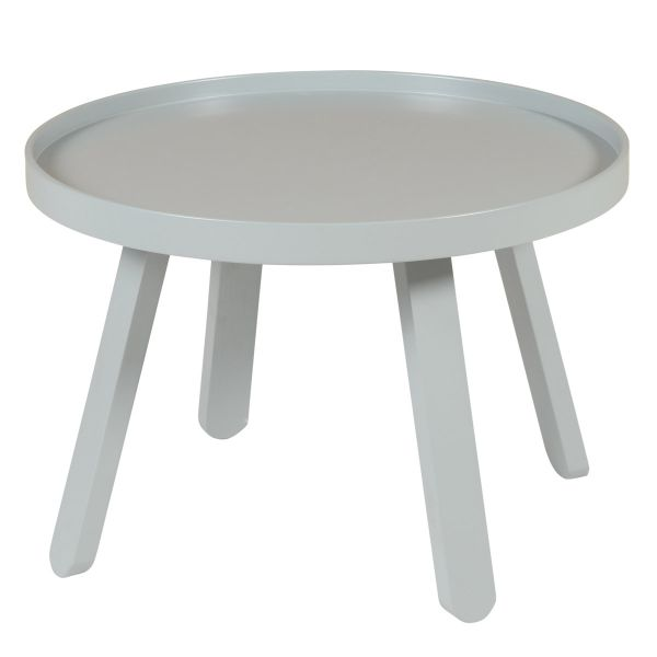 Table basse grise ronde Ø 58 cm Mjuk