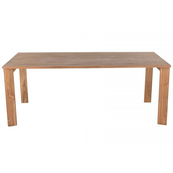 Table teck naturel 200 x 100 cm Sumba